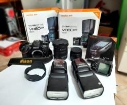 Nikon DSLR Full Set Camera