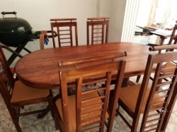 Family Dinning Table With 06 Chair