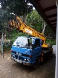 Isuzu Boom Truck