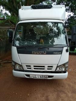 Isuzu NKR Freezer Lorry 2007