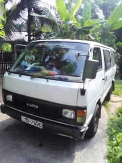 Toyota Hiace Shell Van 1987