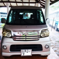 Daihatsu Hijet Atrai Wagon Turbo 2016 Full Option